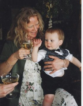 Janette and Grandson 2001